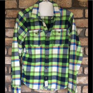Abercrombie & Fitch Flannel - NEW LISTING